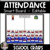 Attendance Smart Board Crabs