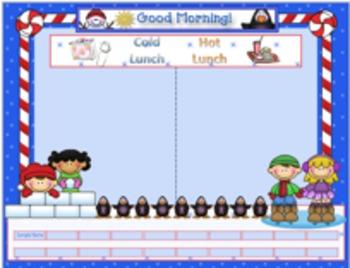 Attendance (Winter Fun theme)