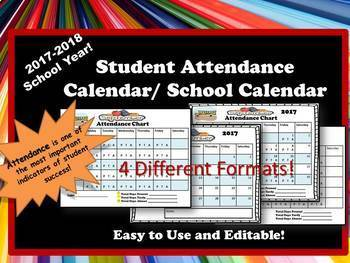 Attendance and Academic Calendar- 2017-2018 School Year