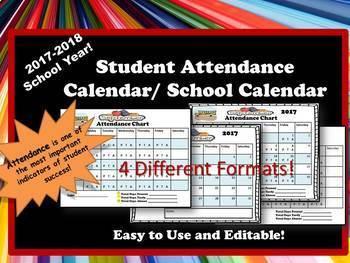 Attendance and Academic Calendar- 2017-2018 School Year