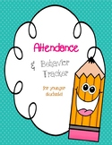 Attendance and Behavior Calanders for Early Childhood