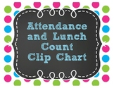 Attendance and Lunch Clip Chart
