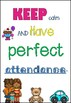 Attendance and Punctuality Posters