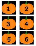 Attendance board pumpkins