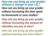 Attendance is Important - Lesson for your class.