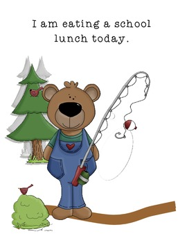 Attendance/Lunch Count, Camping/Picnic Themed