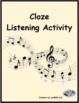 Attendez que ma joie revienne by Barbara Cloze listening activity