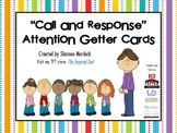 """Attention Getter """"Call and Respond"""" cards"""