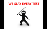 Attention Getter PPT - We Slay Every Test!