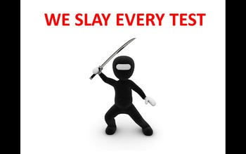 Attention Getter PPT - We Slay Every Test