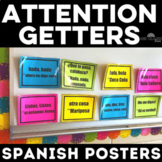 Classroom Decor: Attention Getter Posters for Spanish Class