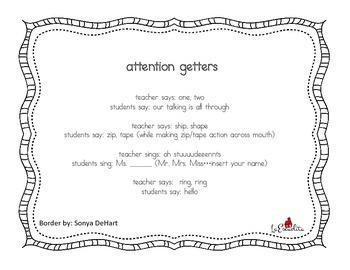 Attention Getters & Llamados de Atención
