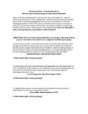 Attention Getters - Starting a writing assignment - examples