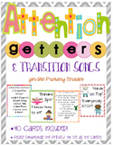 Attention Getters & Transition Songs - 40 Cards!