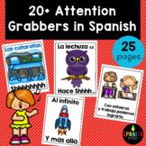 Attention Getters in Spanish (Cantos para agarrar la atencion de la clase)