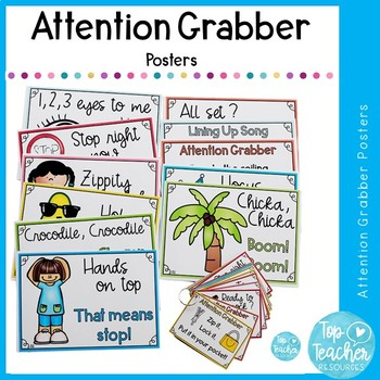 Attention Grabber Cards