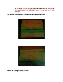 Attention Grabber Foldable