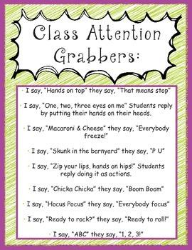 Attention Grabber Poster