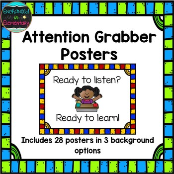 Attention Grabber Posters