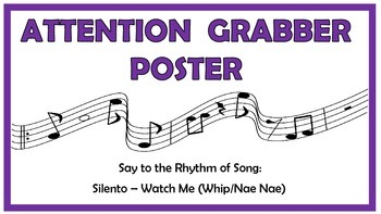 Attention Grabber with Music
