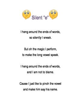 "Silent ""e"" Poster"