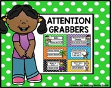 Attention Grabbers | Attention Activities | Free