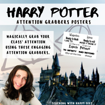 Attention Grabbers Poster - Harry Potter and Movie Themed