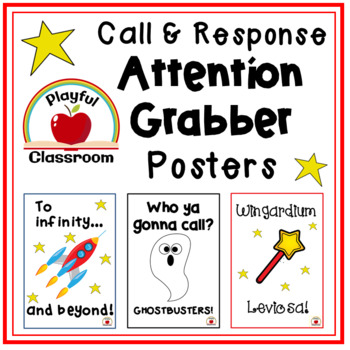 Attention Grabbers Posters
