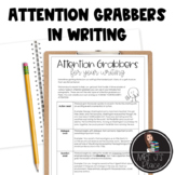 Attention Grabbers/Hooks for Writing Introductions