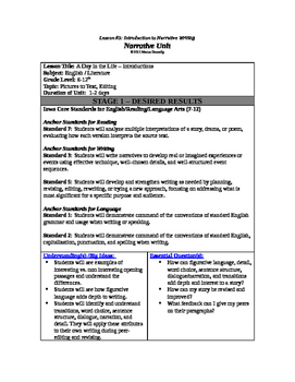 Attention-Grabbers in Narrative Writing Lesson Plan
