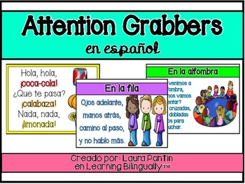 Attention Grabbers in Spanish