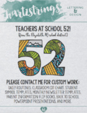 Attention School 52 Teachers!