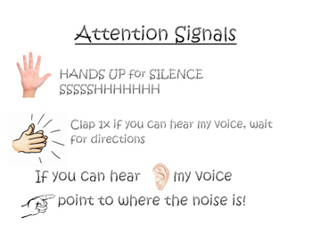 Attention Signals