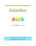 Social Skills and Behavior Management: Attention