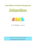 Social Skills and Behavior Management: Attention