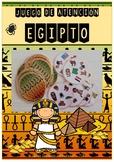 Attention game: Egypt / Juego Atención: Egipto