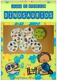 Attention game: dinosaurs / Juego Atención: Dinosaurios