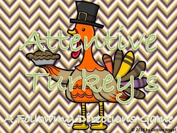 Attentive Turkeys: A Following Directions Game-PROMO