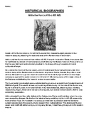 Attila the Hun Biography Article and (3) Assignments