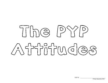 IB Attitude Booklet