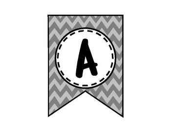 Attitude Determines Direction Banner - Bulletin Board - Gray