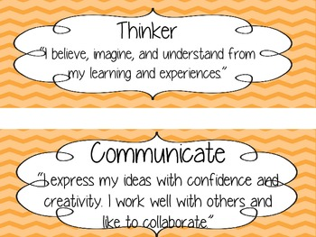 Attitude and Learner Posters