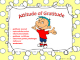Attitude of Gratitude Workshop Distance Learning