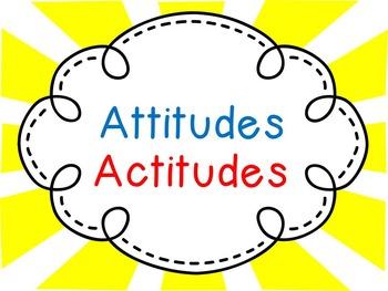 Attitudes- Bilingual Super Hero IB PYP