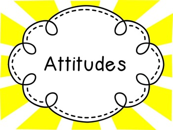 Attitudes- Super Hero Theme- IB PYP