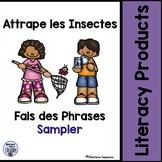 Attrape les Insectes, Fais les Phrases Sampler