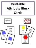 Attribute Block Cards