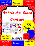 Attribute Shape Block Math Centers