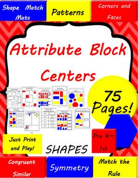 Attribute Shape Block Math Centers