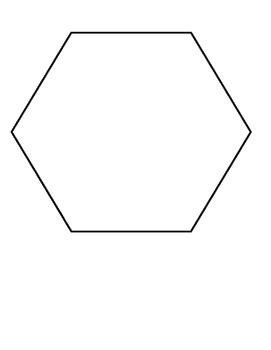 Attribute Blocks Large Teacher Set - Fill the Hexagon